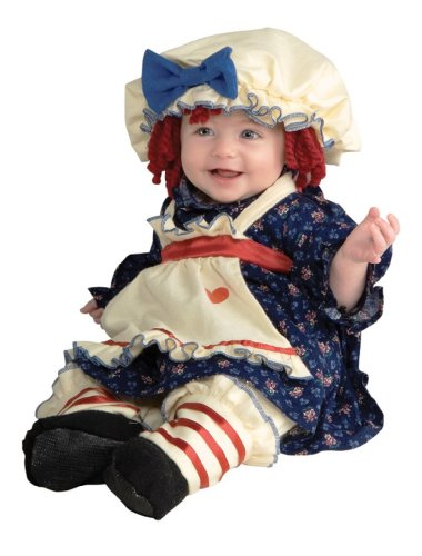 Ragamuffin Dolly Costume, Toddler
