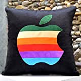 Multi Coloured Apple-Bright Colours And Beautifully Etched Motif In Velvet - B00NMBVCH4