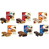 ATKINS-Ultimate All-Day VARIETY 6 Pack + 2 FREE Nutrition Power Bars. BREAKFAST: 1 Box Of Cranberry Almond Bars...