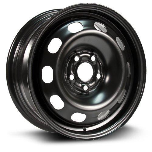 Steel Rim 15X6, 5X100, 57.1, +38, black finish (MULTI FITMENT APPLICATION) X99130N