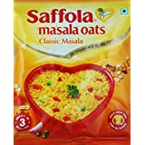 Saffola Masala Oats (Pack Of 6 With 3 Different Flavors) (Free Shipping)