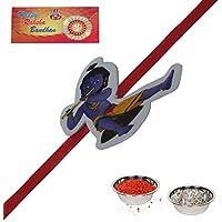 Send Gift Rakhi RakshaBandhan Fancy Rakhi Designer Rakhi Lovely Brother Best Friend Krishna Cartoon Kids Rakhi...