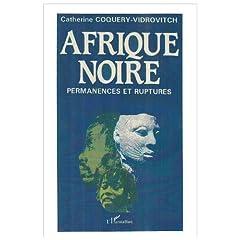Afrique noire: Permanences et ruptures