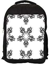 """Snoogg Layered From Star Casual Laptop Backpak Fits All 15 - 15.6"""" Inch Laptops"""