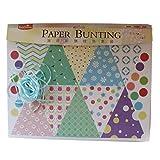 Sweet Life Paper Bunting Set (EPB1504) - Multicolour - DIY Art And Craft Kits