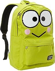 Hello Kitty Keroppi Large Face Backpack