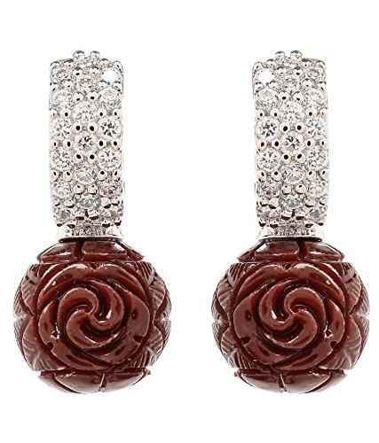 Akshim Multicolour Alloy Earrings For Women