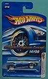 Mattel Hot Wheels 2006 First Editions 1:64 Scale Blue Chrysler Firepower Concept Die Cast ...