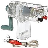 American Educational 7-1853 DC Crank Generator, 6-1/2