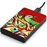 MeSleep Red Peacock Hard Drive Skin
