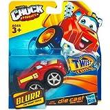 Tonka CHUCK & Friends Twist Trax Diecast BLURR [Red Sport Truck]