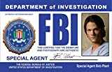 FBI Special Undercover Agent Bob Plant aka Jared Padalecki as Sam Winchester Novelty Drivers License / Fake I.d. Identification for Supernatural Fans