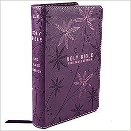 Holy Bible: KJV Pocket Edition: Purple: Christian Art