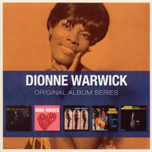 DIONNE WARWICK  5CD ORIGINAL ALBUM SERIES BOX SET