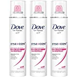 Dove Dove Style Plus Care Strength And Shine Extra Hold Aerosol Hairspray, 7 Oz (Pack Of 3)