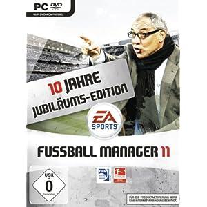 Nur heute: Fussball Manager 11 [PC] (Jubiläumsedition) für 33,97 € inkl. VSK (20 € gespart)!