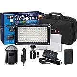 Fujifilm X-T1 IR Digital Camera Lighting Vidpro Varicolor 144-Bulb Video And Photo LED Light Kit