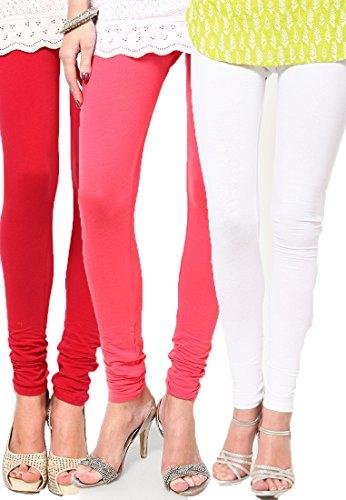 Castle Women's Leggings (Pack Of 3) (Multi_Free Size) - B00RBN5OFK