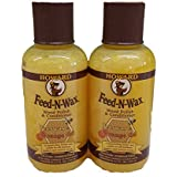 Howard FW0004 Feed-N-Wax Wood Polish And Conditioner, 4.7-Ounce (2-Pack)