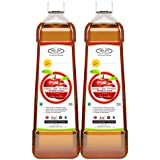 Sinew Nutrition Raw Apple Cider Vinegar (Unfiltered & Unpasteurised) With Strands Of Mother 750ml (Pack Of 2)