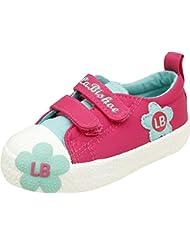 Zebra Baby Girls Cotton Sneakers - B01EA480US