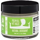 PRIMAL PIT PASTE All Natural Coconut Lime Deodorant   2 Ounce Jar   NO Aluminum