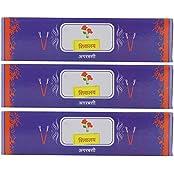 Deepa Traders Powder Incense Sticks (11.5 Cm X 3 Cm X 11.5 Cm, White, Pack Of 150) - B01G3LKDVK