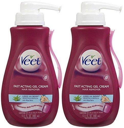 Veet Hair Removal Gel Cream, Sensitive Skin Formula 13.5 oz