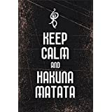 Poster Keep Calm And Hakuna Matata ON FINE ART PAPER HD QUALITY WALLPAPER POSTER LOVE IS ETERNAL