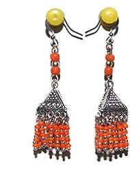 Beadsnfashion 1 Pair Earring Jhumki For Women