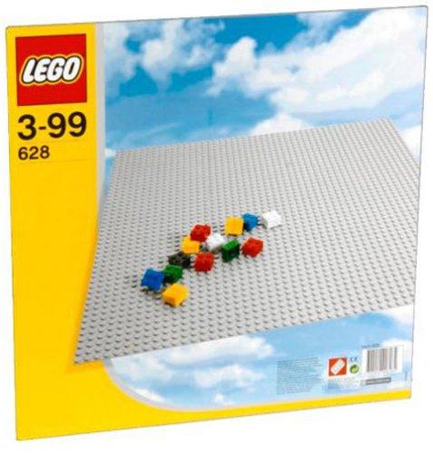 レゴ 基本セット 基礎板 灰 48×48ポッチ 628