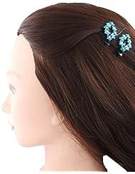Anuradha Art Sky-Blue Colour Adorable Stylish Hair Accessories Hair Cilp For Women/Girls