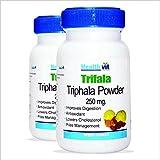 HealthVit Triphala Powder 250 Mg 60 Capsules - Pack Of 4