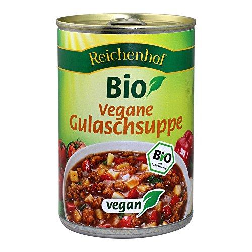Reichenhof Gulaschsuppe vegan, 3er Pack (3 x 400 g)