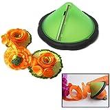 Alcoa Prime Lowest Price 1PC Easy Carrot Cucumber Julienne Curler Decorating Maker Vegetable Fruit Shredders Slicers...