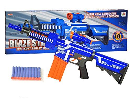 LOBZON Children Toy Sniper Rifle Nerf Soft Bullet Electric ...