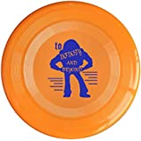 YFF Frisbee YFF Toy Story Buzz Lightyear To Infinity And Beyond 150 Gram Ultimate Sport Disc Frisbee Yellow