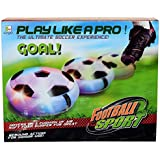 Air Power Soccer Disk, Indoor Air Soccer With Foam Bumpers And Led Lights