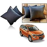 Car Vastra Cushion Pillow Set Black Color For Car & Home For - Mahindra XUV 500-2015