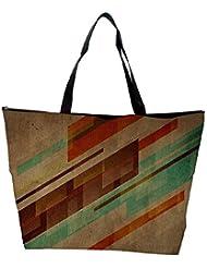Snoogg Brown Background Design Designer Waterproof Bag Made Of High Strength Nylon