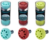 Moonwalker Roller Derby Rubber Toe Stops Blood Red Model: