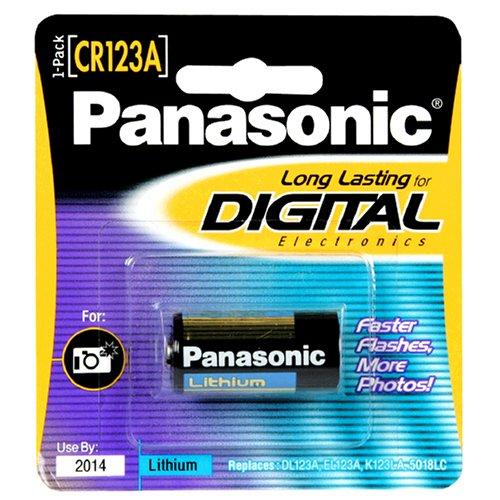 Panasonic CR123 Photo Lithium Battery Single Pack