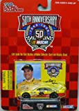 1998 - Racing Champions - NASCAR 50th Anniversary - Matt Hutter - No. 36 Stanley Pontiac Grand Prix - 1:64 Scale Die Cast Replica Car, Collectible Card and Display Stand