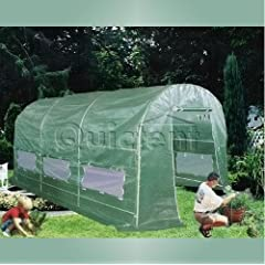 Quictent® 12 X 7 X 7 Portable Greenhouse Large Walk-in Green Garden Hot House