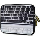 Amzer 7.75 Inch Neoprene Sleeve Keyboard Reflection For Samsung GALAXY Tab 2 7.0, Google Nexus 7, Amazon Kindle...