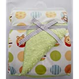 Carter Baby Blanket - Colorful Baby Blanket, Warm And Cozy, Extra Soft Fleece Blanket 102 X 76 CmIn (Wht/Pooh)