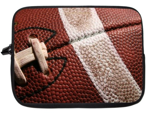 American Football Close-Up Laptop Sleeve - Note Book Sleeve - Apple IPad - Apple IPad 2 - Apple IPad 3 - Android...