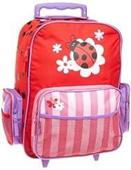 Stephen Joseph Little Girls' Rolling Luggage - Ladybug