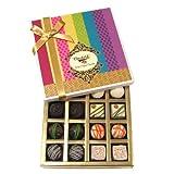 Valentine Gift For Girlfriend - Assorted White And Dark Truffle And Chocolate Gift Box - Chocholik Belgium Chocolates