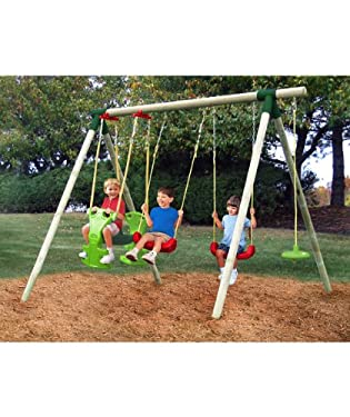 Little tikes stockholm swing set from mothercare the toy for Swing set frame only
